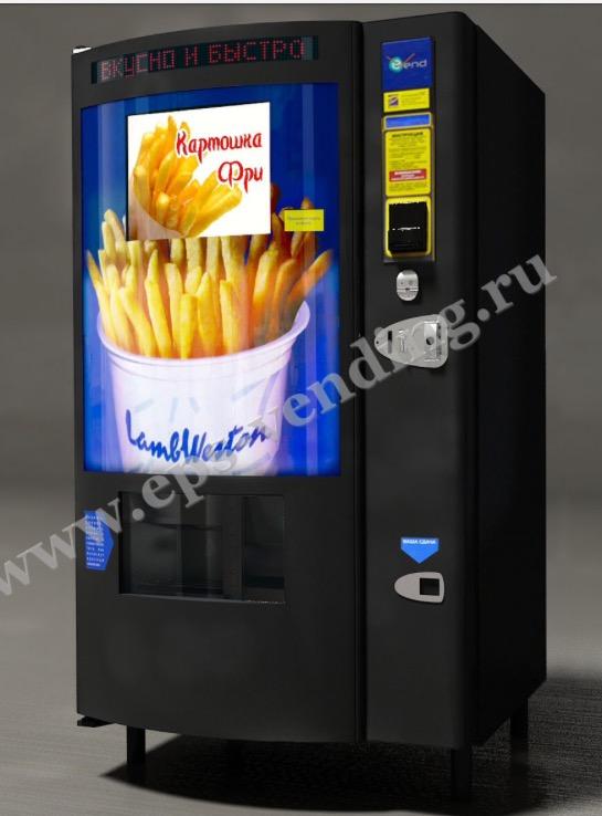 Фото - Установка вендингового аппарата по продаже картофеля