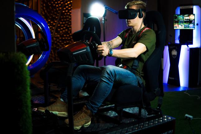 Фото - Производство VR-симуляторов на динамичной платформе