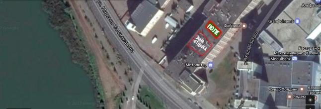 Фото - Площадка на крыше для проведения отдыха