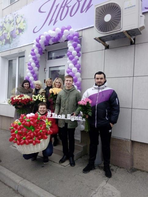 Фото - Доставка букетов из свежесрезанных роз