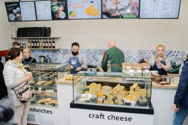 Фото - Сеть минимаркетов здорового питания с кофе - зоной