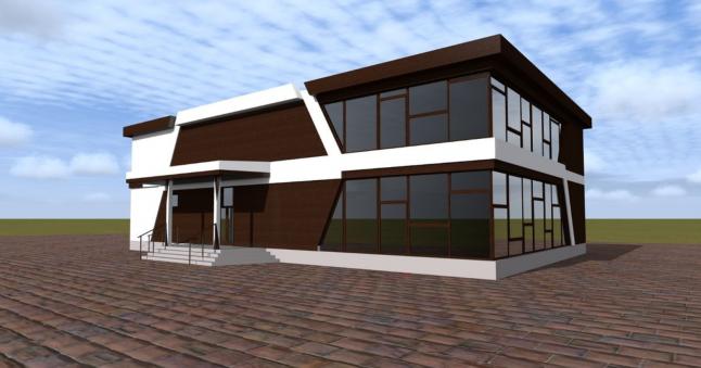 Строительство ТЦ в п. Пангоды