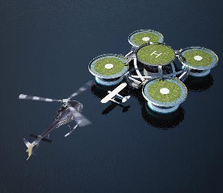 Фото - создание сети водных отелей в акватории Средиземноморья.
