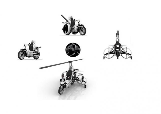 Фото - Трансформированный летательный аппарат