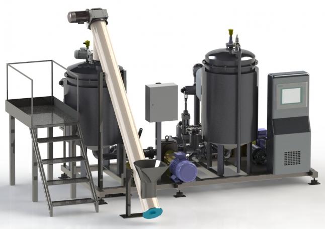 Фото - Линия по модификации битума и экспорт продукции в Казахстан