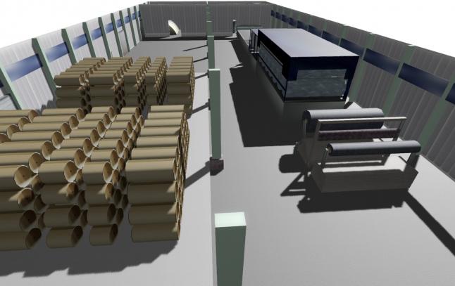 Фото - «Запуск инновационного производства картона из соломы»