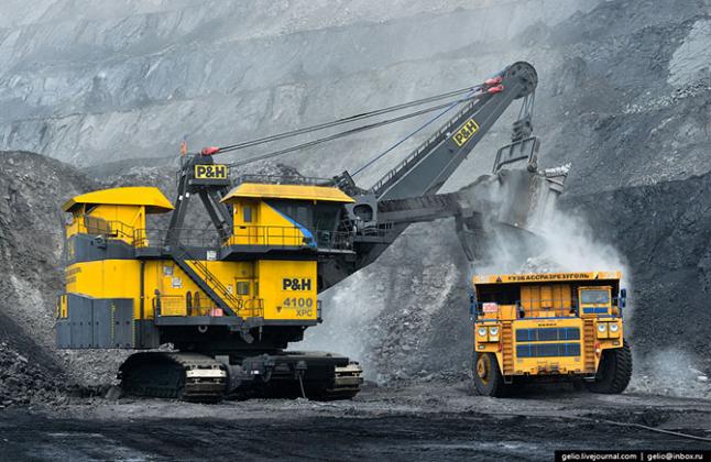 Фото - Добыча угля