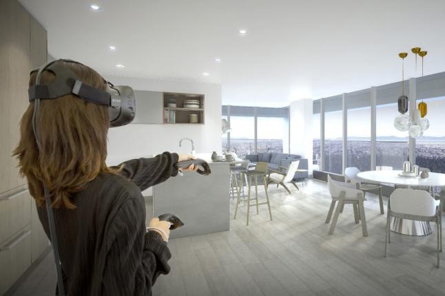 Фото - Кухни на заказ с VR-технологией (виртуальная реальность)
