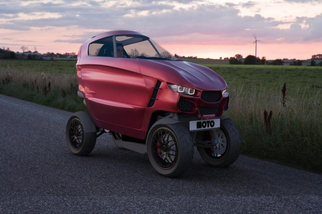 Фото - CityCar - персональное транспортное средство.