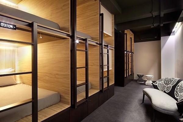Фото - Хостел с кроватями капсульного типа