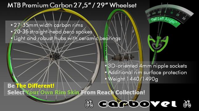 Производство премиальных велосипедных колес из углепластика