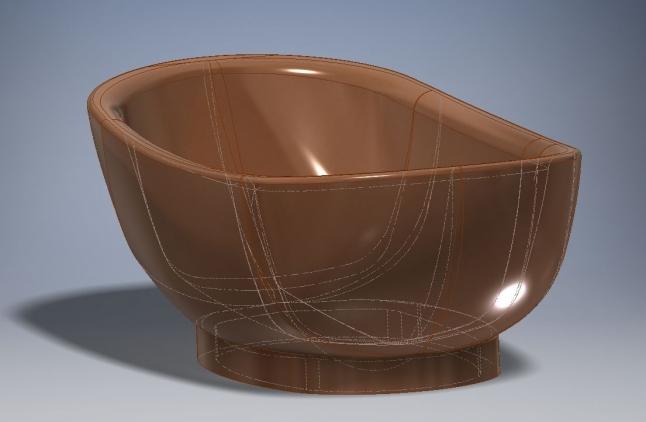 Фото - Производство ванн из ценных пород дерева