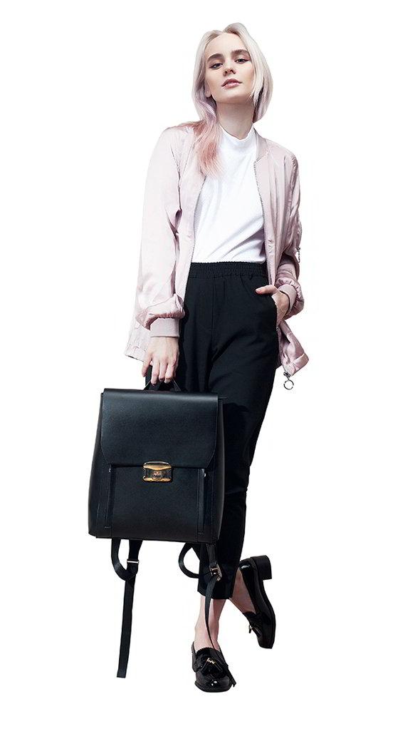 Фото - рюкзака с биометрическим доступом