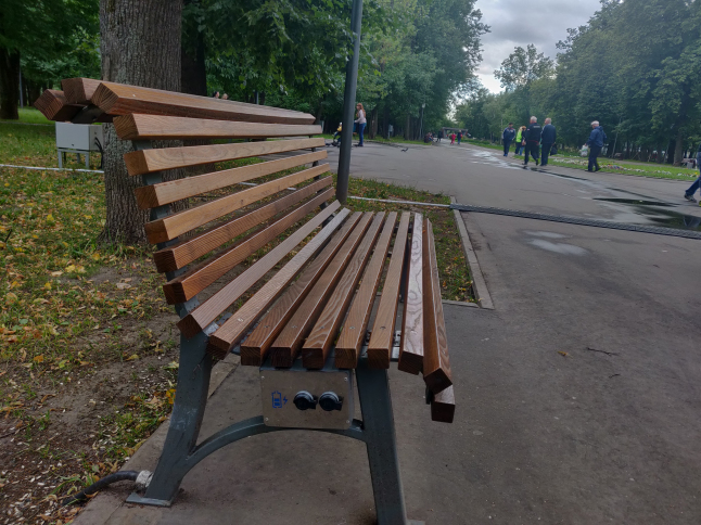 Photo - warm benches and new tourist attraction spots