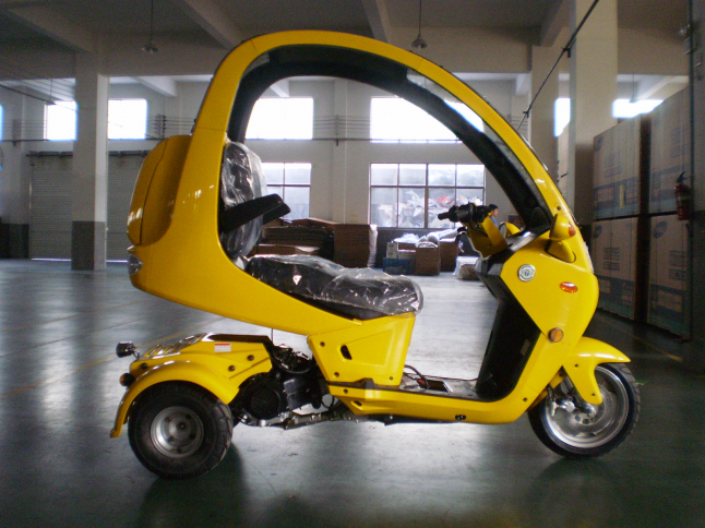 Фото - Поставка, сборка, продажа трициклов с крышей в России