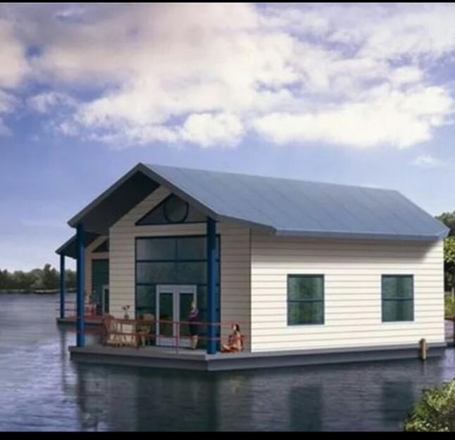 Фото - Строительство плавучих домов