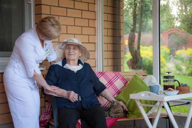 Фото - Пансионат для пожилых людей